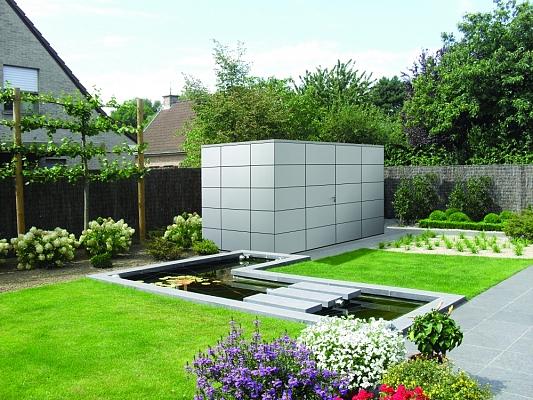 Tack tuinhuizen bijgebouwen tuin exterieur houthandel van mechgelen - Creeren van een tuin allee ...