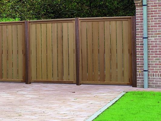 Hekjes Voor Tuin : Houten poorten en hekjes u a tuinafscheiding u a tuin u a exterieur