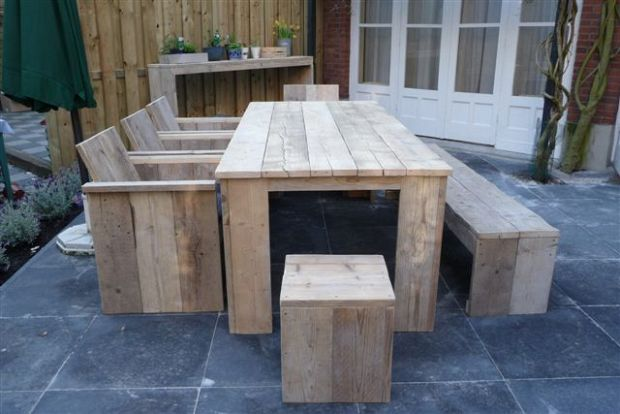 Steigerhout tuin exterieur houthandel van mechgelen for Bouwpakket steigerhout